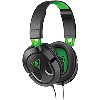 Experience the sleek, lightweight design, crystal clear audio, convenient in line controls and universal compatibility of the EAR FORCE reg  Recon 50Xgaming headset