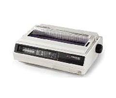 Oki MICROLINE 395C Dot Matrix Printer - 610 cps Mono - 360 x 360 dpi - Parallel, Serial - 220V