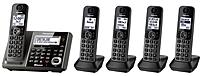 Panasonic KX-TG585SK DECT 6.0 Link2Cell Cordless Phone wi...