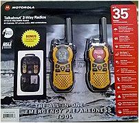 Motorola MT351R Talkabout 2-Way Radios - Pack of 2