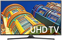 Samsung 6 Series UN40KU6300 40 inches 4K Ultra HD Smart TV - 3840 x 2160 - 120 MR - USB, HDMI - Black