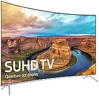 Samsung 8-Series UN55KS8500 55-inch Class 4K SUHD Smart Curved LED TV - 3840 x 2160 - 240 MR - Black