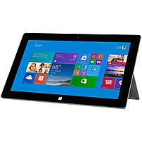 p  b Leaner. Meaner.  b   p   p Thinner, faster, and lighter than before. Comes with Office 2013 RT  including Outlook  so you can do more. br    br    b Snap. Done.  b   p   p  b Productive apps  b   p   p Office 2013 RT is included with Surface 2. Get touch optimized versions of Outlook, Word, Excel, PowerPoint, and OneNote, and take Surface from plaything to workhorse in an instant.   p   p  b Super.  b   p   p  b Speedy.  b   p   p  b Petite but powerful  b   p   p Surface 2 weighs less than 1.5 pounds and is just 8.9mm thin, yet offers up to 10 hours of video playback  to get you through that transatlantic flight . You'll notice improved start up time, faster content downloads and transfers, enhanced graphics performance, and fuller, richer audio.  p