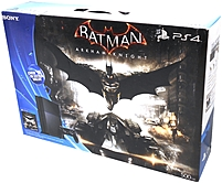 Sony Playstation 4 3000847 500 Gb Batman Arkham Knight Bundle - Black