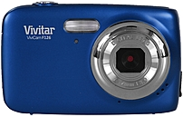 Vivitar ViviCam VF126-BLU-INT 14.0 Megapixel Digital Camera - 4x Optical Zoom - 1.8-inch LCD Display - 4 mm Lens - Blue