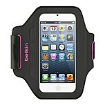 Belkin F8W149TTC01 Ease-Fit Carrying Case Armband for iPod - Day Glow - Armband