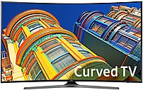 Samsung 6 Series UN49KU6500 49-inch Smart Curved 4K UHD LED TV - 3840 x 2160 - 120 MR - HDMI, USB