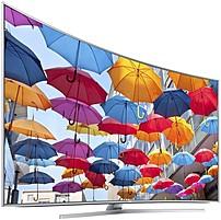 "Samsung 88"" Class (88"" Diag.) LED Curved 2160p Smart 3D 4K Ultra HD TV Silver UN88JS9500FXZA"