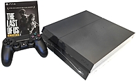 Sony The Last Of Us Remastered Playstation 4 Bundle - With Game Pad - Wireless - Black - Ati Radeon - Blu-ray Disc Player - 500 Gb Hdd - Gigabit Ethernet - Bluetooth - Wireless Lan - Hdmi - Usb - Octa-core (8 Core) 3000818