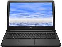 The Dell Inspiron I5558 2147BLK Laptop PC is integrated with the 5th generation Intel Core i3 5015U 2.1 GHz Dual Core Processor paired with 6 GB of memory to supply you with the speed you will need to run your favorite applications and entertainment
