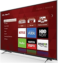 Tcl 55up120 55-inch 4k Ultra Hd Roku Smart Led Tv - 120 Hz - Hdmi, Usb