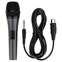 P Professional Dynamic Microphone with detachable cord is an economical solution to have an extra microphone on hand