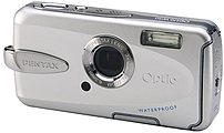 Pentax Optio W30 19275 7.1 Megapixel Digital Camera - 3x Optical/4x Digital Zoom - 2.5-inch LCD Display - Silver