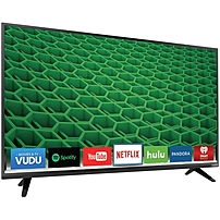 Vizio D55 D2 55 inch LED Smart TV 1920 x 1080 5 000 000 1 240 Clear Action Rate Wi Fi HDMI