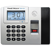 Pyramid Time Systems Timetrax Elite Biometric Time Clock System - Biometric, Key Code - 50 Employee Tteliteek