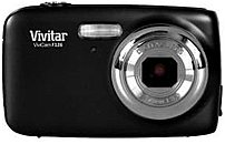 The Vivitar VF126 BLK Digital Camera features a 14.1 megapixel sensor that captures high resolution images that can be previewed back on the integrated 1.8 inch Display