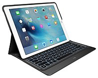 Logitech 920-007824 Create Folio Keyboard/cover Case For Ipad Pro - Black - Bump Resistant, Scratch Resistant, Spill Resistant/water Resistant - Fabric