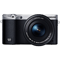 "Samsung Nx500 28.2 Megapixel Mirrorless Camera With Lens - 16 Mm - 50 Mm - Black - 3"" Touchscreen Amoled - 16:9 - 3.1x Optical Zoom - 6480 X 4320 Image - 4096 X 2160 Video - Hdmi - Hd Movie Mode - Wireless Lan Ev-nx500zbmius"