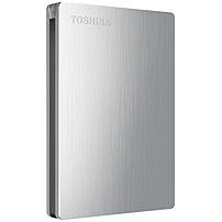 Toshiba Canvio reg  Slim II Portable External Hard Drive is ideal for taking your storage on the go
