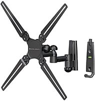 Level Mount Lm30dj Dual Arm Full-motion 10-32-inch Tv Mount - Black