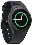 Samsung Gear S2 SM-R7200ZKAXAR SmartWatch - 1.2-inch Super AMOLED Display - 4 GB Memory - Dust and Water Resistant - Wi-Fi - Dark Grey
