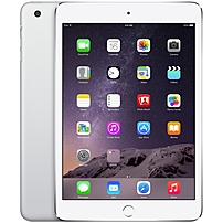 "Apple Ipad Mini 3 Mggt2ll/a 64 Gb Tablet - 7.9"" - Retina Display, In-plane Switching (ips) Technology - Wireless Lan - Apple A7 - Silver - Ios 8 - Slate - 2048 X 1536 Multi-touch Screen 4:3 Display (led Backlight) - Bluetooth - Lightning - Front Camera/we"