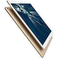 "Apple Ipad Pro 32 Gb Tablet - 12.9"" - Retina Display - Wireless Lan - Apple A9x - Gold - Ios 9 - Slate - Multi-touch Screen Display - Bluetooth - Lightning - Sensor Type: Digital Compass, Gyro Sensor, Accelerometer, Barometer, Ambient Light Sensor - Front Ml0h2ll/a"