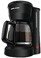Black & Decker DCM600B 5-Cup Coffeemaker, Black 267217697