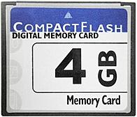 Generic CF-4GB 4 GB Compact Flash Memory Card