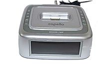 Capello Ci201 Docking Alarm Clock For Ipod, Iphone - Silver
