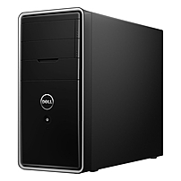 Dell Inspiron 3847 I3847-10000bk Desktop Pc - Intel Core I5-4460 3.2 Ghz Quad-core Processor - 8 Gb Ddr3 Sdram - 1 Tb Hard Drive - Windows 10 Home 64-bit Edition