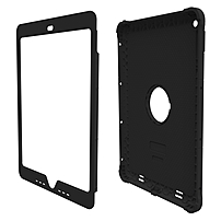 "Trident Kraken A.m.s. Case For Apple Ipad Air 2 - Ipad Air 2 - Black - Polycarbonate, Silicone, Thermoplastic Elastomer (tpe) - 48"" Drop Height Kn-apipa2-bk000"