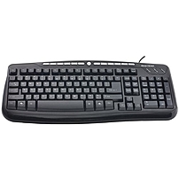Gear Head Usb Media Pro Iii Keyboard - Cable Connectivity - Usb Interface - 116 Key - Compatible With Computer - Internet, Multimedia Hot Key(s) - Qwerty Keys Layout - Membrane Kb3850mpu