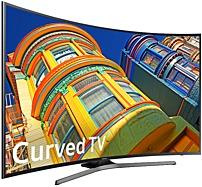 Samsung 6-Series UN65KU6500 65-inch Curved 4K UHD TV - 3840 x 2160 - 120 MR - HDMI, USB