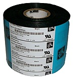 Zebra 05319BK06045 1476 Feet x 2.36-inch Thermal Transfer Wax Ribbon for 105S, 110PAX4, 110XiIIIPlus and 140XiIII Printers - Black