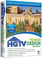 Take a fresh approach to the way you live with Nova 41007 HGTV Home Design for Mac