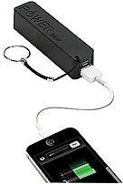 Urge Basics Sqchgrchain-blk Powerpro 2,000 Mah Usb Keychain Charger - Black