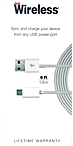 Just Wireless 05439 6 Feet Micro USB Cable - Micro USB to USB - White