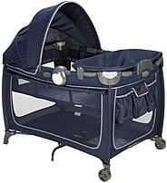 Eddie Bauer 884392602291 Complete Care Playard - Twilight Blue