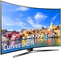 Enjoy incredible picture and dramatic detail with Samsung 7 Series UN78KU7500 78 inch 4K Ultra HD Curved Smart LED TV