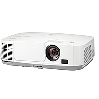 Nec Display Np-p501x Lcd Projector - 720p - Hdtv - 4:3 - F/1.7 - 2.1 - Ac - 270 W - Secam, Ntsc, Pal - 3500 Hour Normal Mode - 6000 Hour Economy Mode - 1024 X 768 - Xga - 4,000:1 - 5000 Lm - Hdmi - Usb - Vga In - Ethernet - 357 W - White Color - 3 Year Wa