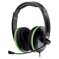 Turtle Beach Ear Force Xl1 Headset With In-line Amplifier - Stereo - Black - Sub-mini Phone, Usb - Wired - 20 Hz - 20 Khz - Over-the-head - Binaural - Circumaural - 15.98 Ft Cable Tbs-2349-01