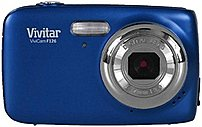 Vivitar ViviCam VS126-BLU S126 16.0 Megapixel Digital Camera - 4x Digital Zoom - 1.8-inch LCD Display - EFL: 7 mm Lens - Blue