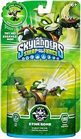 Activision 047875847453 Skylanders Swap Force  Swappable Stink Bomb Gaming Figure studied martial arts under one of the greatest ninjas in history and his master worked to scare Stink Bomb into finding his innermost strength