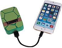 Sakar International Inc 588C15C8 Teenage Mutant Ninja Turtles Universal Power Bank provides the extra juice you need to keep your electronics going through the day