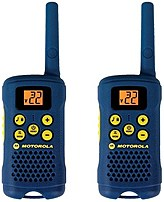 Motorola MG163A Two Way Radio With 16 Mile Range Blue Gray