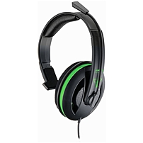 Turtle Beach Ear Force Recon 30x Chat Communicator Headset For Xbox One - Mono - Mini-phone - Wired - Over-the-head - Monaural - Circumaural Tbs-2308-01