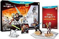 Disney Infinity 712725026745 3.0 Star Wars Gaming Figures Starter Pack Wii U