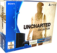 Sony 3001362 UNCHARTED: The Nathan Drake Collection PS4 Game Console Bundle - Game Pad Supported - Wireless - Black - ATI Radeon - Blu-ray Disc Player - 500 GB HDD - Gigabit Ethernet - Bluetooth - Wireless LAN - HDMI - USB - Octa-core (8 Core) 3001362