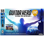 Activision 047875874350 Guitar Hero Live Mobile Gaming Bundle For iOS